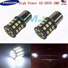 JDM ASTAR 2x1156 7506 White 2835 SMD 12V LED Back Up Reverse Lights Bulb Backup