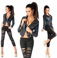 Plus Size Cropped Length Zip Coats & Jackets for Women