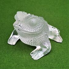 Lalique Gregoire Toad - Made in France - #1164000