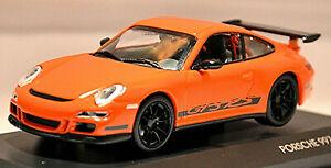 Porsche 911 997 GT-3 RS Coupe 2006-12 orange 1:43 Lucky Die-Cast