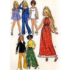 PATTERN FOR Crissy Brandi Tressy Tennis outfit Maxi Halter dress Wide leg Pants