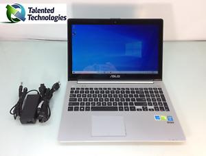"""ASUS V551L VIVOBOOK 15.6"""" Touchscreen LAPTOP i7-4500U 8GB 1TB HDD DVD-RW GT 740M"""
