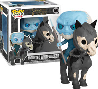 Mounted White Walker Game Of Thrones Funko Pop Vinyl New in Box In Hand