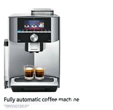 Siemens EQ.9 TI905501DE Automatic Bean To Coffee Machine/Silver