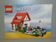 LEGO® Creator Bauanleitung 5771 Hillside House Heft 2 instructions B4837