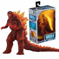 """12"""" Head to Tail Action Figure Model NECA Burning Godzilla King of The Monsters"""