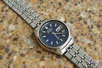 Vintage Seiko Actus 21 Jewels Automatic 7019 7060 Kanji January 1972