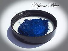 Neptune Blue Pearl Powder Pigment paint plastidip nail art mica 25g