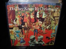 "BAND AID do they know it's christmas / feed world ( rock ) 7""/45 picture sleeve"