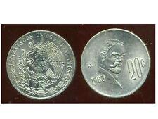 MEXIQUE  20 centavos 1983
