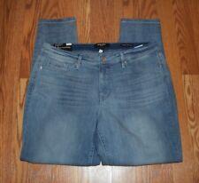 NWT Womens NINE WEST JEANS Gramercy Biscayne Light Wash Skinny Ankle Jeans Sz 12