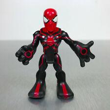 Playskool Marvel Super Hero Adventures BIG TIME SPIDER-MAN figure black & red