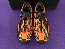 🔥Vittoria Ikon Mtb Orange Matte Size Eu 38 Cycling Shoes Italy $500 Msrp🔥