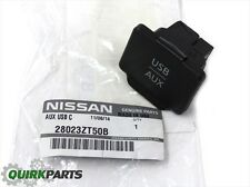 2010-2014 Nissan Sentra | Center Console USB AUX Auxiliary Jack Outlet OEM NEW