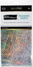"""iCraft Deco Foil Transfer Sheets by Brutus Monroe 6"""" X 12"""" 10 Sheets"""