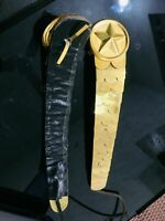 Napoleon New Belt for French Napoloenic Shako hat with Star Boshes High Quality