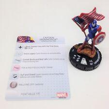 Heroclix Civil War OP set Captain Ironmerica #113 Limited Edition figure w/card!