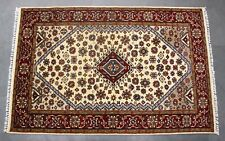 4'X6' Gagano Medallion Indian Handmade Rug Oriental Wool Hand Knotted Carpet NEW