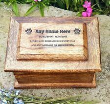 Pet Box Pet Urn Dog Urn Cat Urn Ashes Casket Pet Urn Cremation Box Memorial Box