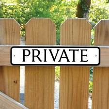 PRIVATE Sign, No Entry Sign, Private Entrance Sign  Robust Gate Sign No Rusting