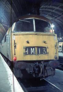 Original Slide  BR DH Class 52 Diesel D1059 WESTERN EMPIRE . Paddington Dec 1973