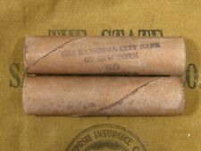 ONE - Indian Head Flying Eagle Penny Roll 50 Coins 1863-1909 PS
