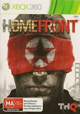 XBOX 360 HOMEFRONT GAME