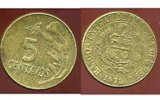 PEROU  5 centavos 1973