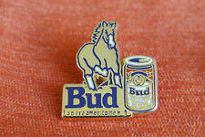 07251 PINS PIN'S BIERE BEER BUD BUDWEISER CHEVAL HORSE ZAMAC