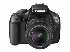 Canon EOS 1100D (Black) Digital SLR Camera w/ EF-S 18-55mm f/3.5-5.6 IS II Lens