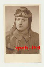 Original Foto / .. Portrait eines Piloten.....rückseitig datiert 1940