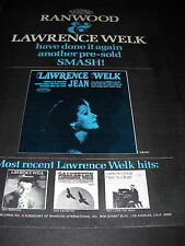 Lawrence Welk Has Done It Again 1969 Promo Poster Ad