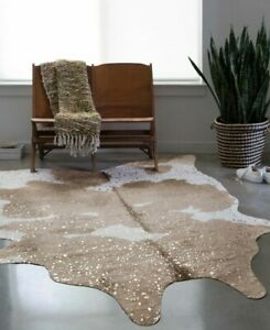 """Loloi Bryce Collections Floor Rug Taupe Champagne 5' x 6'6"""""""