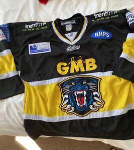 Nottingham Panthers sewn ice hockey jersey shirt top adult XL