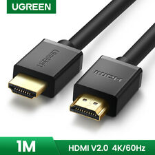 Ugreen HDMI Male to HDMI Male Cable Gold-Plated Connector 4K1080P 3D forPS4 1M W
