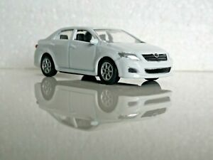 🚓 WELLY NEX DROMADER CAR Scale Model 1:60 1/60 BOX TOYOTA COROLA white