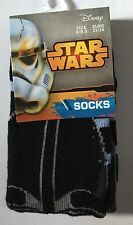 Kids Star Wars Socks 3 Designs and Sizes to Choose From Great Gifts Idea Boys 9-12 Black