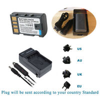 Battery +Charger for BN-VF808 JVC Everio GZ-MG630 GZ-MG670 GZ-MG330 GZ-MG330AU