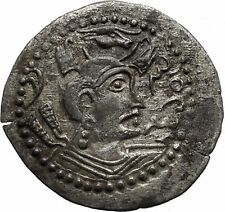 Hephthalites or White Huns Napki Malka Silver Drachm Ancient Silver Coin i46381