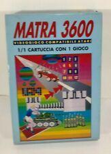 JAW Matra 3600 ATARI 2600 CLONE BOOTLEG VINTAGE RETROCONSOLE BOXED Console PAL