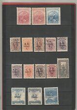"""Griechenland, Lot """"Zwangszuschlagsmarken"""", *, ab 1914, MiNr. 1 -15"""