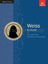 ABRSM Silvius Leopold Weiss: Weiss For Guitar - Same Day P+P