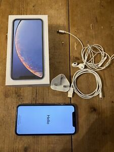 Apple iPhone XR - 128GB - Blue (Unlocked) A2105 (GSM)