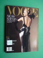 VOGUE US May 2004 Nicole Kidman Liya Kebede Hana Soukupová Karen Elson Lily Cole