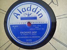 78 Tours IKE CARPENTER AND HIS ORCHESTRA-PACHUKO HOP/SANDU