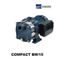 POMPA EBARA CENTRIFUGA MULTISTADIO HP 1.5 COMPACT BM/15 PER AUTOCLAVE 220V
