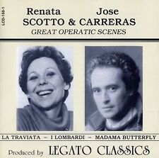 SCOTTO & CARRERAS - GREAT OPERATIC SCENES / CD - TOP-ZUSTAND
