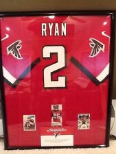 3d7695d07 MATT RYAN AUTO SIGNED FRAMED ATLANTA FALCONS NIKE ELITE JERSEY – FALCONS COA