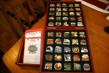 More details for danbury mint boxed set british victory collector pins complete