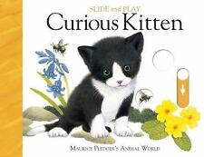 Slide & Play: Curious Kitten (Board Book)